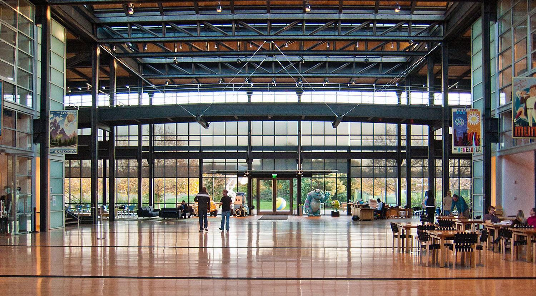 Pixar HQ atrium