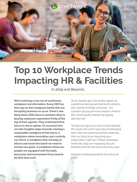 top 10 workplace trends in HR & Facilities