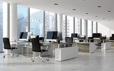 How to enable social distancing in the workplace via desk booking & office floor plans