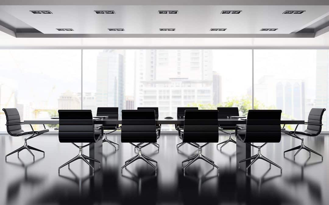 Smart meeting room management for social distancing in the workplace