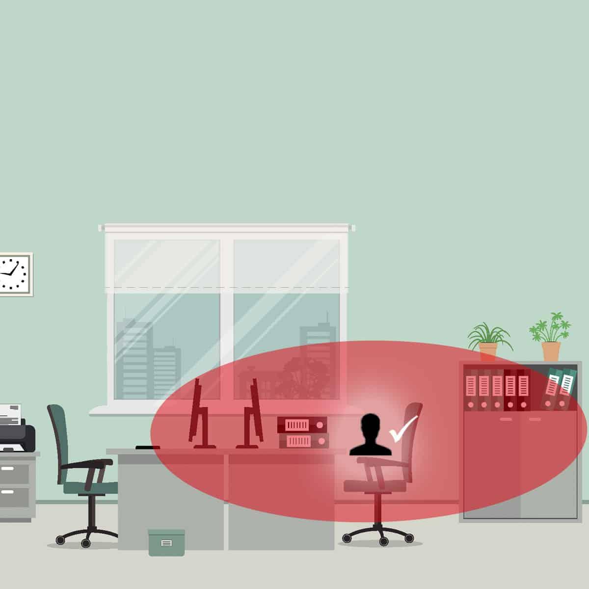 social distancing desks