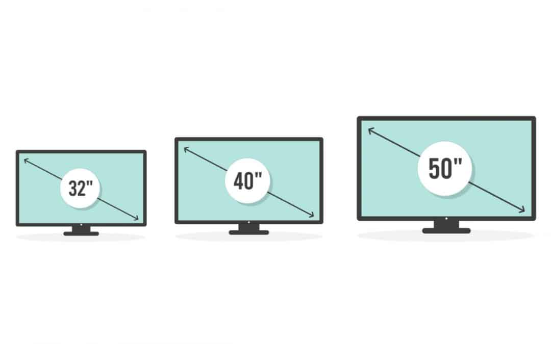 What's the ideal size of TV for your conference room?