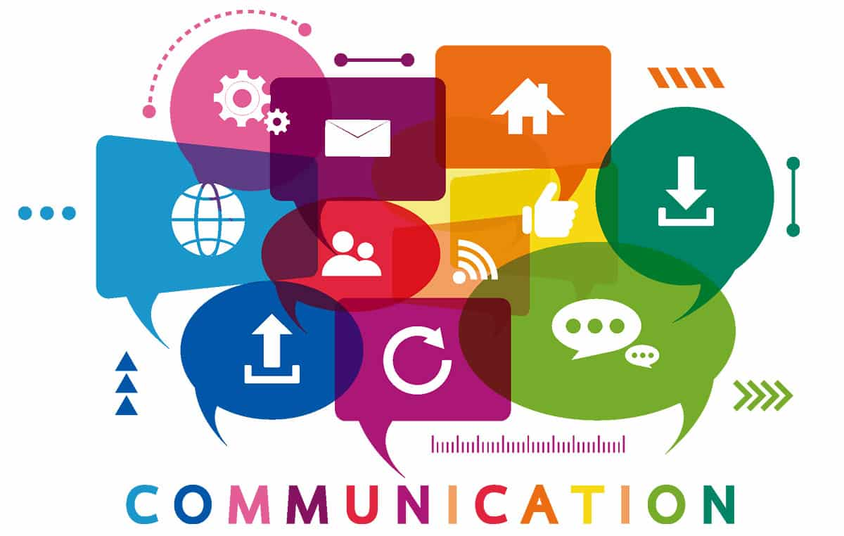 communication is key graphic