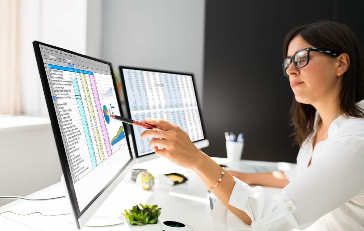 spreadsheet data monitoring
